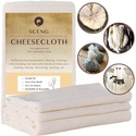 Cheesecloth, Grade 90, 9 Sq Feet, Reusable
